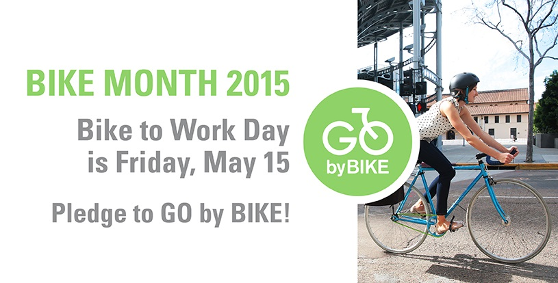 Bike Month 2015! Pledge to Go by Bike!